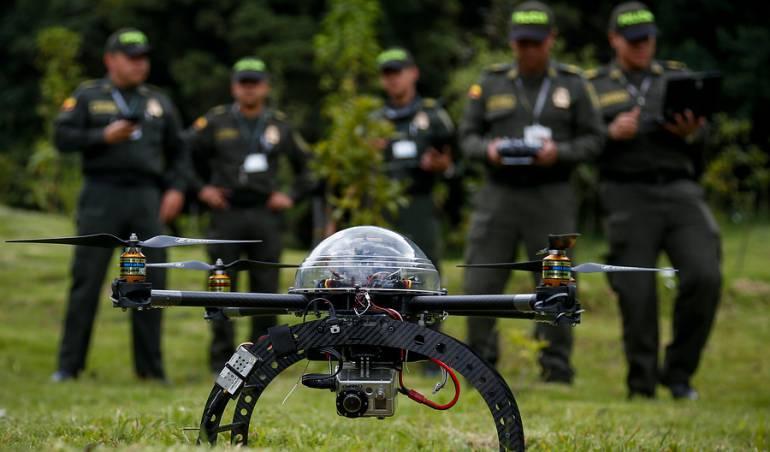 Drones ayudarán a la seguridad en la frontera