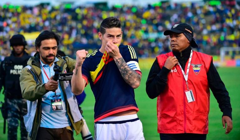 En Vivo Ecuador Vs. Colombia Eliminatorias: Un paso enorme a Rusia: Colombia venció a Ecuador en Quito
