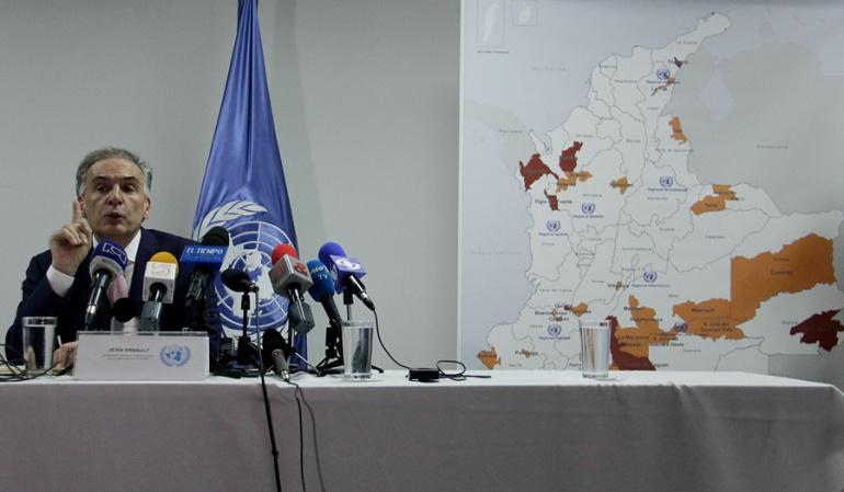 Primeras mil armas de las Farc estarán en contenedores de la ONU
