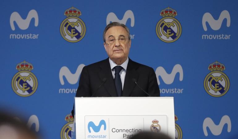 Florentino Pérez Real Madrid: Nos basamos en la humildad y el respeto: Florentino responde a Piqué