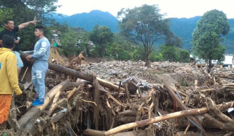 Hoy será habilitada la vía Mocoa-Pitalito, afectada por la avalancha