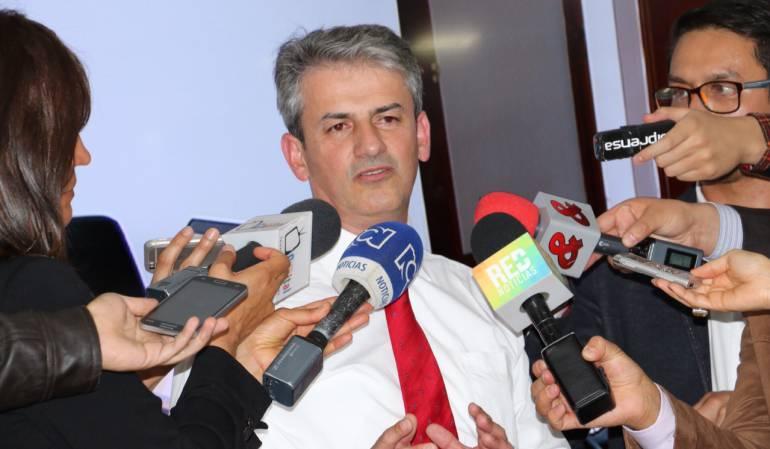 Director de Invías, Carlos García.