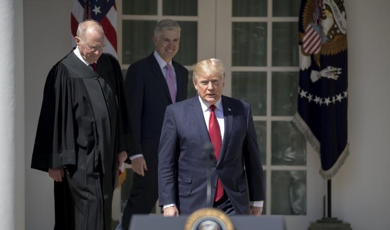 Donald J. Trump, presidente de los Estados Unidos