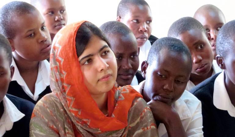 Malala anima a las jóvenes de todo el mundo a hacerse oír e impulsar cambios