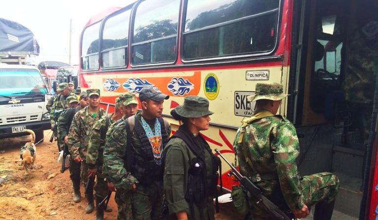 Las FARC entregan a organismos internacionales a otros tres menores de edad