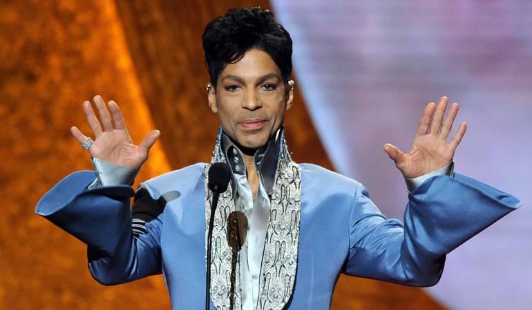 El cantante estadounidense Prince.