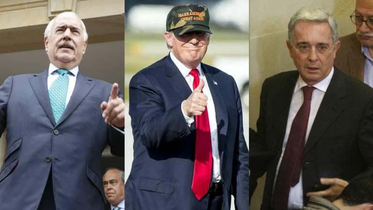 Reunión con Trump: CNN dice que no hubo reunión de Pastrana y Uribe con Trump
