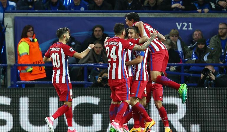 Atlético de Madrid Leicester: Atlético de Madrid se instala en las semifinales de la Champions