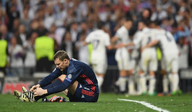 Manuel Neuer lesionado, se pierde el resto de la temporada