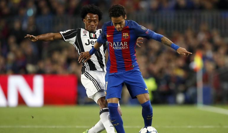 Juventus Cuadrado: Con Cuadrado, Juventus elimina al Barcelona y avanza en Champions
