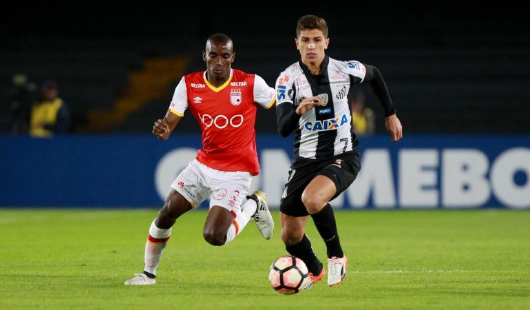 Independiente Santa Fe Santos: En un pálido encuentro, Santa Fe y Santos empataron 0-0