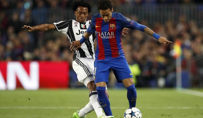 Cuadrado no regresó a Turín con la Juventus