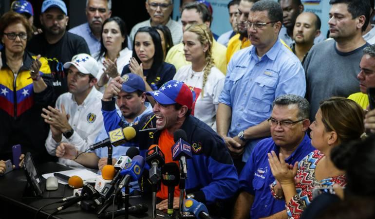 Las protestas del martes fueron replicadas en otros paises como Estados Unidos, Uruguay y Colombia