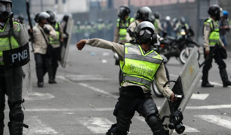 La muerte de la manifestante se produjo debido a lesiones ocasionadas por disparos de balas de goma por parte de los uniformados.