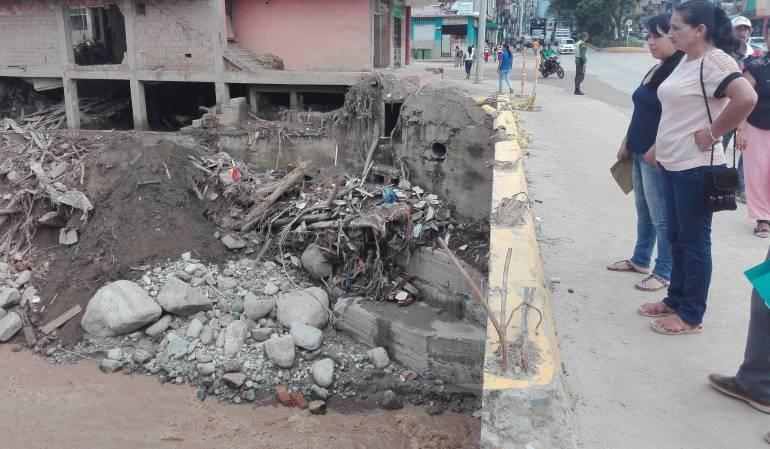 Puente principal es un peligro para los habitantes de Mocoa