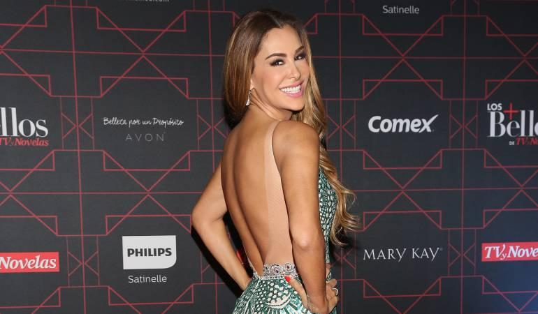 Ninel Conde, actriz mexicana.