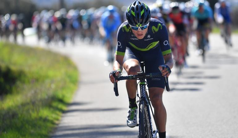 Winner Anacona encabeza el Movistar para Tour de Romandía