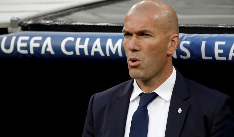 El primer clásico de Zidane en el Bernabeú