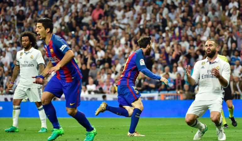Real Madrid Barcelona Messi: Messi sentencia el derby en el último minuto