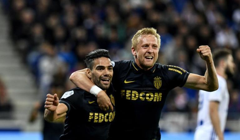 Falcao Mónaco: Falcao marca y Mónaco consolida el liderato de la Ligue 1