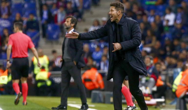 Diego Simeone Atlético de Madrid: Cuando uno se siente fuerte, las piernas siguen al corazón: Simeone