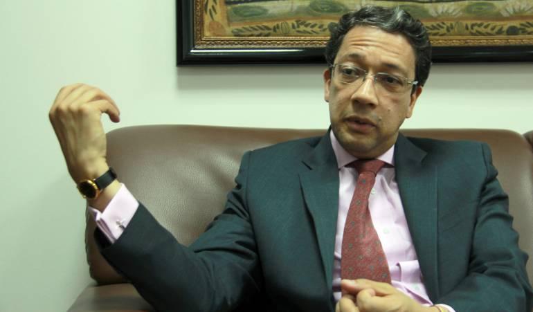 Presidente de Colfecar, Juan Carlos Rodríguez.