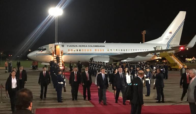 Santos viaja a Paraguay para fortalecer las relaciones bilaterales