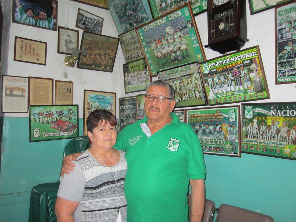 Anibal Munoz adrquirió el bar hace 17 años en el municipio de Envigado.
