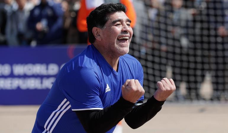 Diego Maradona Selección argentina: Maradona asegura que quiere ser director técnico de nuevo