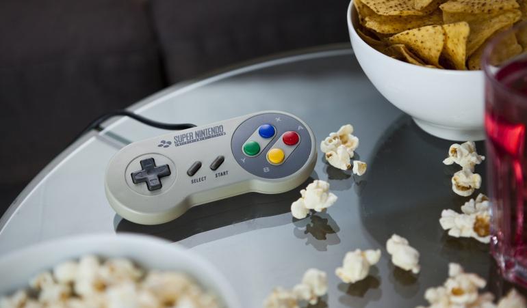 La consola SNES(Super Nintendo Entertainment System) es una de las consolas más exitosas de la compañía.