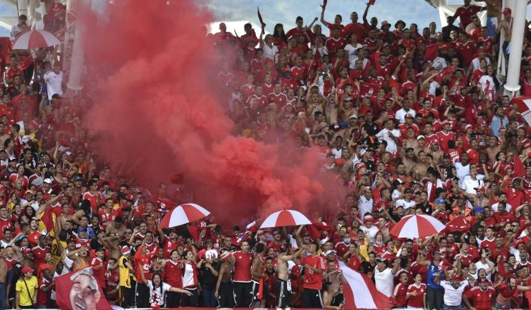 barón rojo Sur América Cortuluá Nacional: Barra del América amenaza la seguridad del partido Cortuluá-Nacional