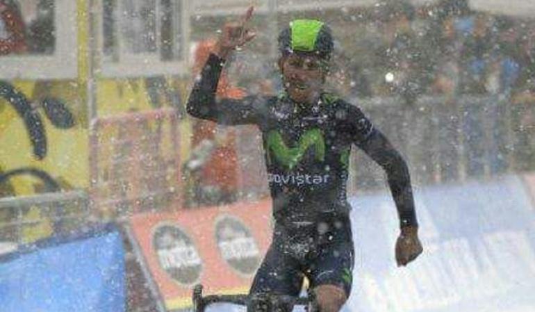 Nairo Quintana Vuelta a Asturias: Nairo Quintana gana etapa reina de la Vuelta a Asturias