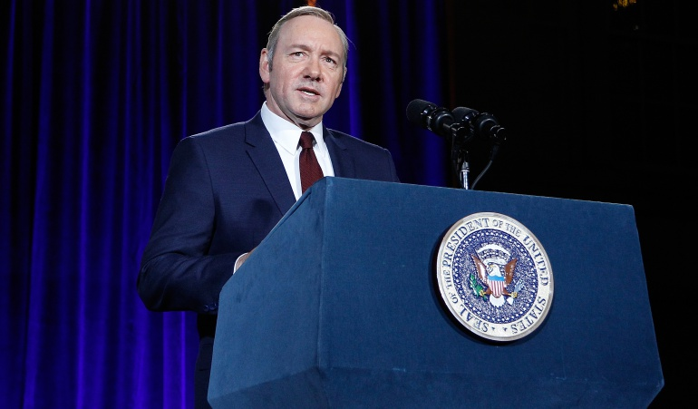 Francis Underwood, protagonista de la serie 'House of Cards'.