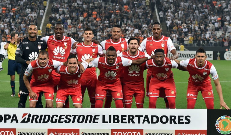 Santos Santa Fe on line Copa Libertadores: Santa Fe y una deuda en territorio brasilero