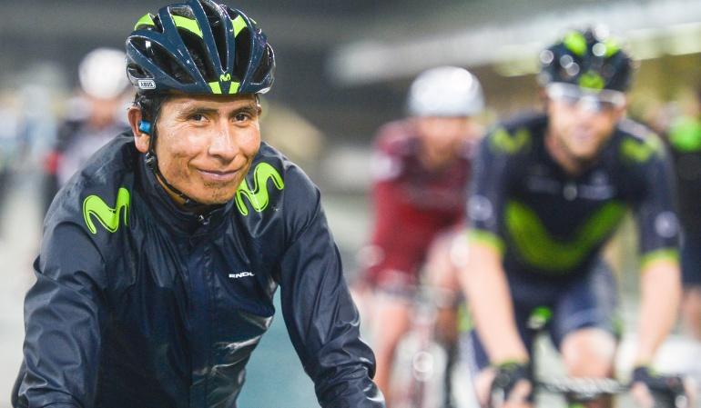 Nairo Quintana favorito Giro Valverde: Veo a Nairo favorito del Giro: Alejandro Valverde