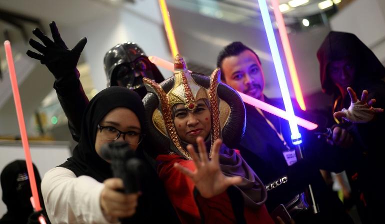 """El """"Día Internacional de Star Wars"""" se convirtió en una tradición entre los fanáticos."""