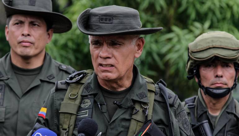 General José Ángel Mendoza, director de la Policía Antinarcóticos.
