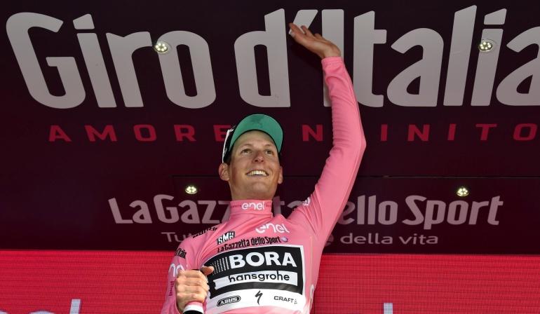 CICLISMO GIRO: Ganar y vestir la 'maglia' rosa es increíble, inolvidable: Pöstlberger