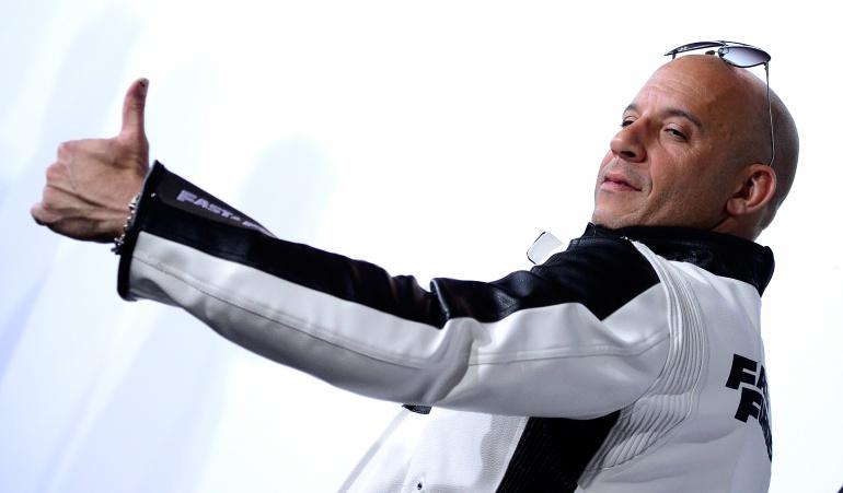 El actor Vin Diesel continúa cosechando éxitos alrededor del mundo.