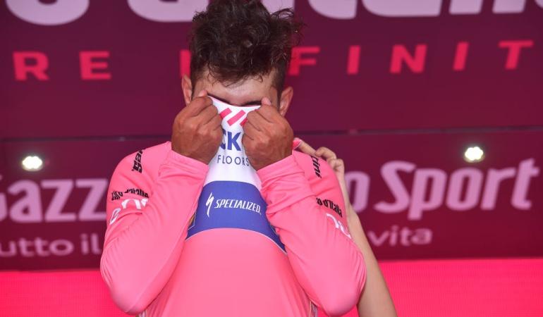 Colombianos Maglia Rosa Giro de Italia: Gaviria, un colombiano más que escribe en letras rosadas su nombre en la historia del Giro