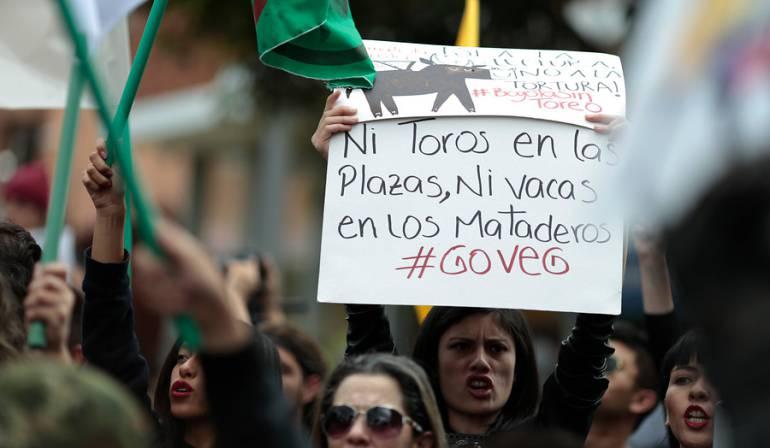 Se revive la consulta antitaurina en Bogotá