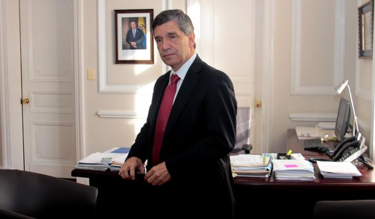 Rafael Pardo, ministro del Posconflicto.