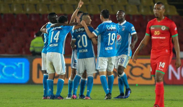 Millonarios 2-1 Cortuluá Liga Águila: Millonarios vence a Cortuluá y se afianza en el grupo de los ocho