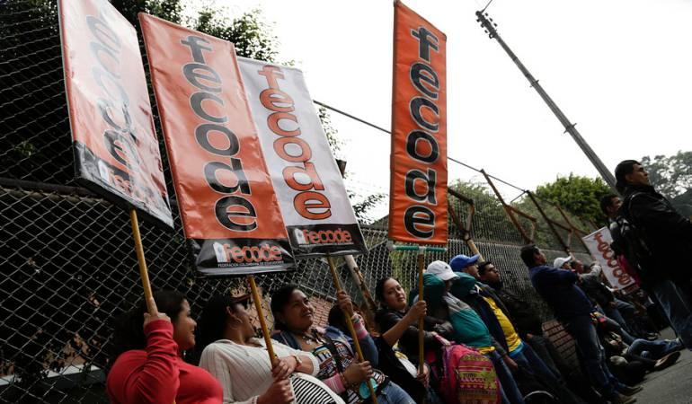 Gobierno pide a Fecode reconsiderar el paro porque es injustificado