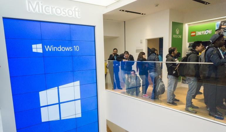 Microsoft dio a conocer la cifra alcanzada de usuarios en una conferencia en Seattle.