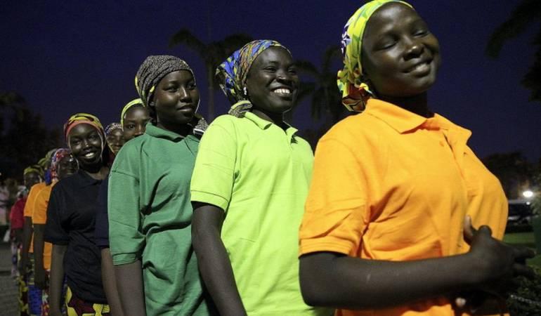 Las chicas Chibok liberadas tendrán que participar en un programa de rehabilitación del gobierno.