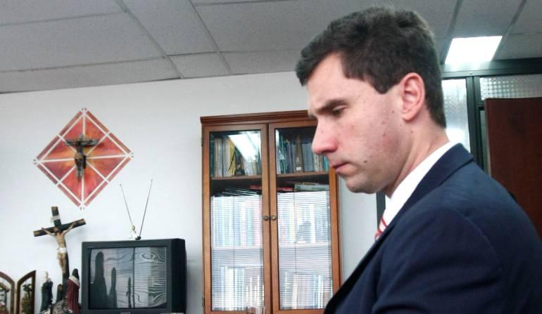 A indagatoria viceministro de agricultura Juan Pablo Díaz Granados