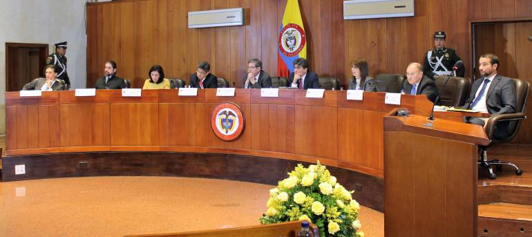 Corte Constitucional: Corte Constitucional sigue sin reemplazo oficial de dos de sus magistrados