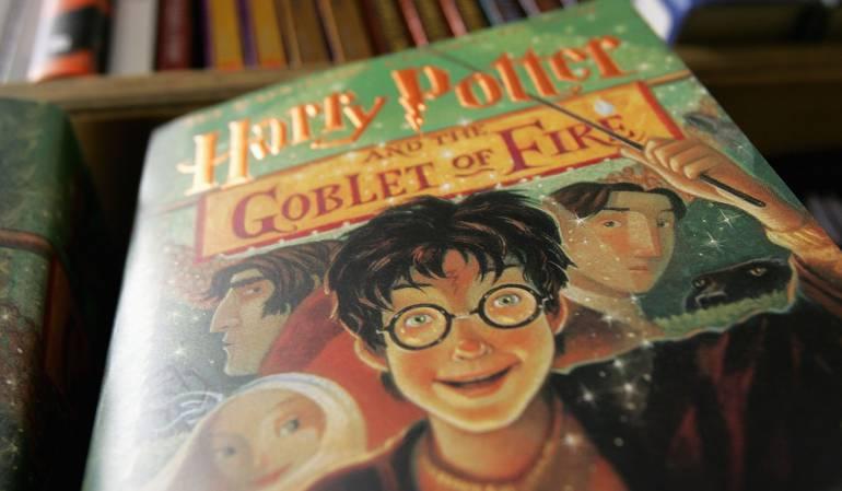 Libro de Harry Potter y El Cáliz de Fuego