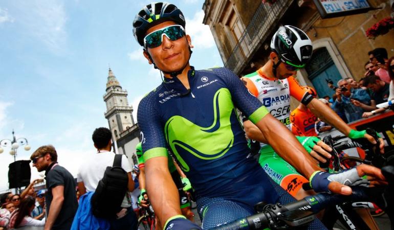 Novena etapa Giro de Italia Nairo Quintana: Etapa nueve del Giro de Italia, un guiño para Nairo Quintana
